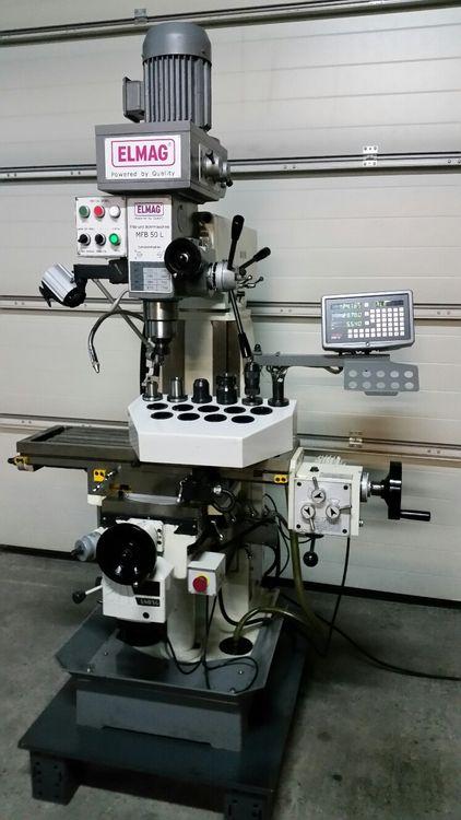 Elmag MFB 50 L Drilling and milling machine