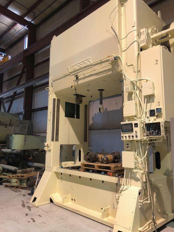 """Verson SSDC Press, 96"""" x 54"""" bed, 12"""" stroke, 30 SPM 300 Ton"""