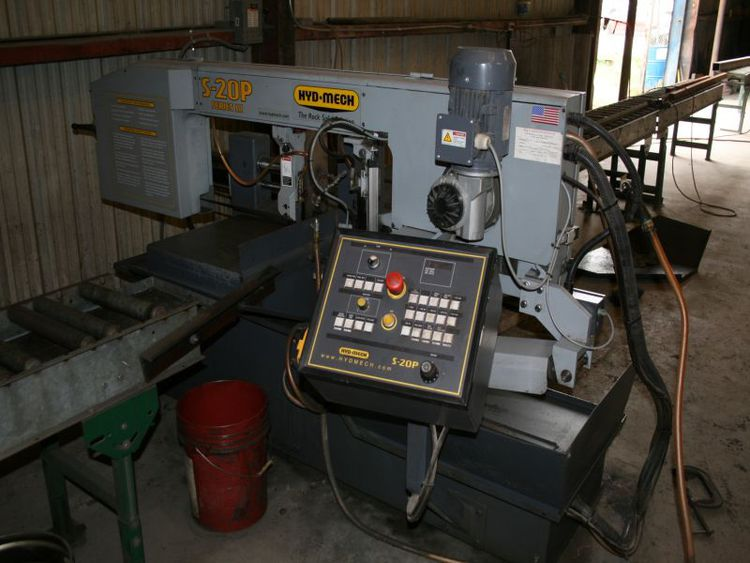 Hyd-Mech S-20P Semi-Automatic Band Saw