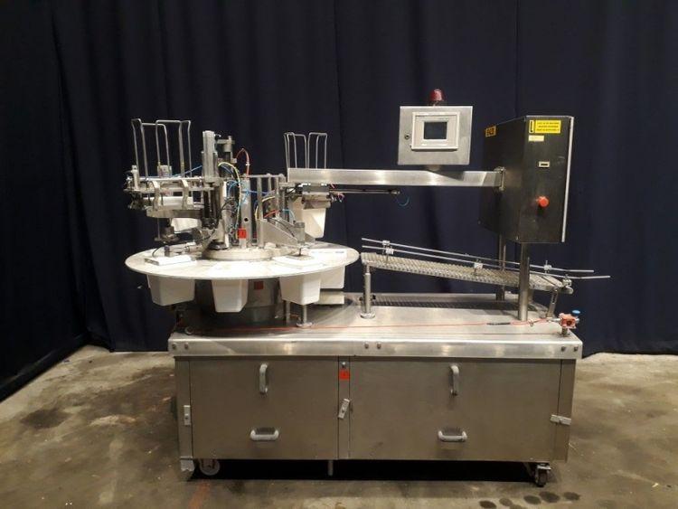 Tetra Pak Hoyer Hoyfill Rotary filling machine for ice cream