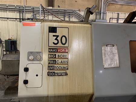 Haas Haas CNC Control 2400 rpm SL-30TBM Live Tooling/Big Bore Haas CNC Control 2 Axis