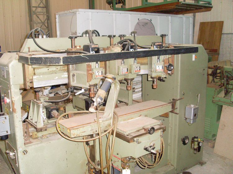 Balestrini MVO 14-head double mortising machine