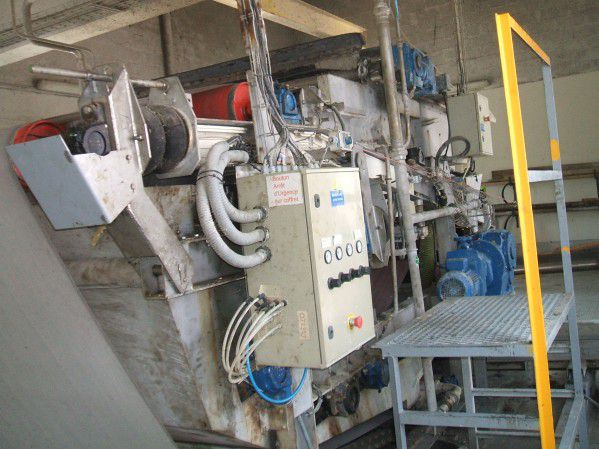 Others Double Wire Sludge Press for Effluent Water Treatment