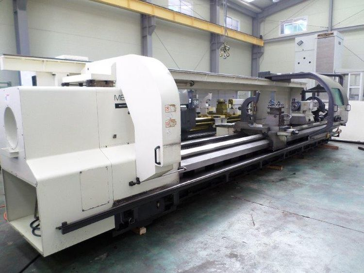 Hwacheon SIEMENS 810D CNC CONTROL 650 RPM MEGA 100 X 6000 COMBINATION LATHE 2 Axis