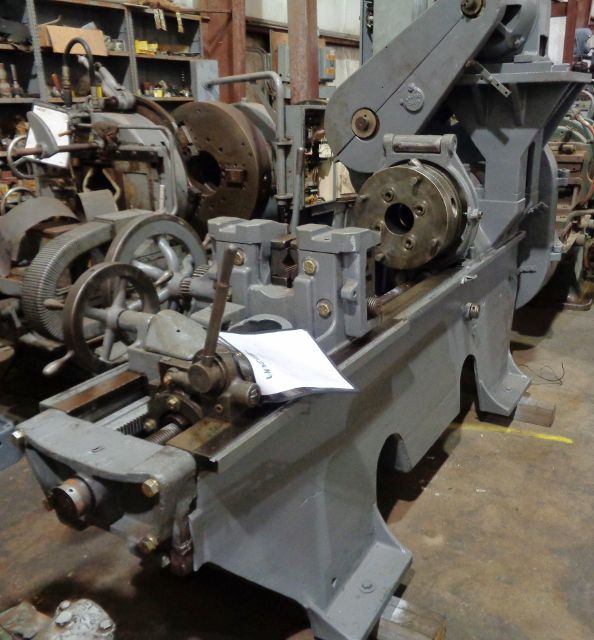 Landis TGB Style Single Spindle Pipe & Bolt Threading Machine