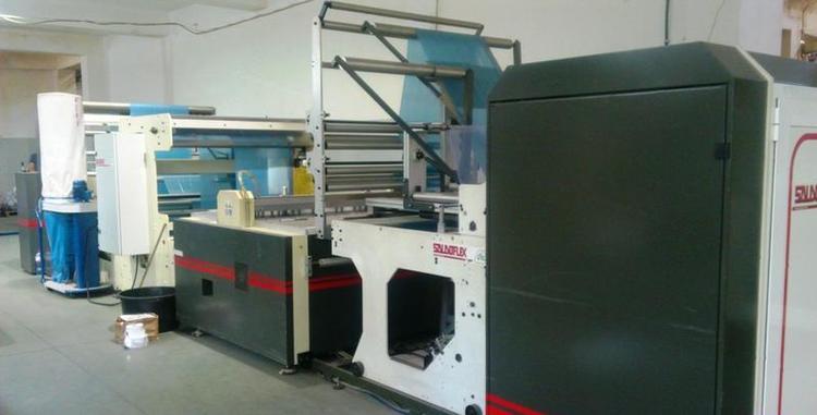 Saldoflex Roll Flex DT1 Bag making machine