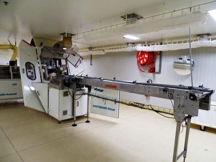 Gouet, Hartmann, VMI, WP Toast Bread line 2200 pieces/hour
