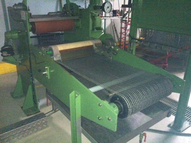 Kusters 220.22-500, Laboratory dyeing padder