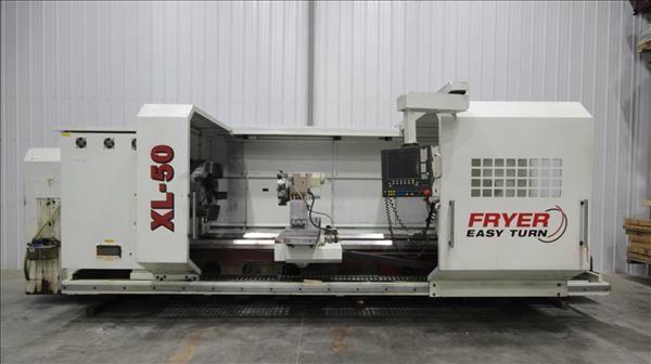 Fryer Fryer-Siemens Touch 2100 CNC Control 350 RPM ET-50 CNC FLAT BED LATHE 2 Axis