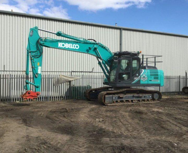 Kobelco SK210HLC-10 Crawler excavators