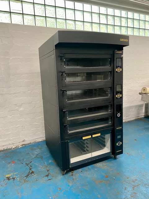 Wiesheu EBO 5-86 with proofer deck oven