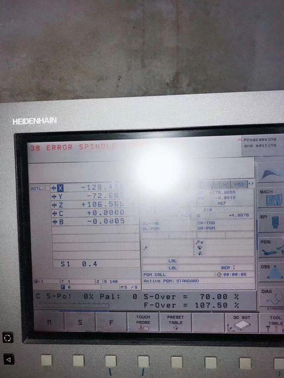 Mikron 400U 5 Axis