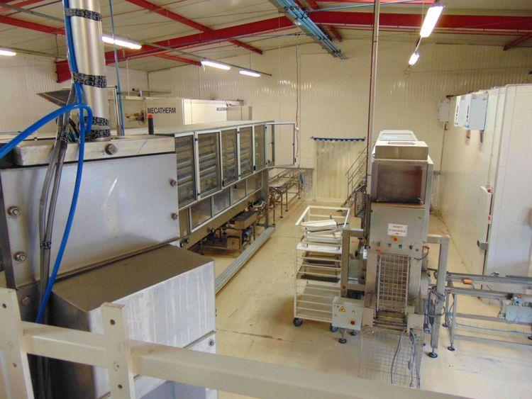 Kemper, Mecatherm, VMI Par-Baked Baguettes and Small Breads Line 2500 pieces/hour