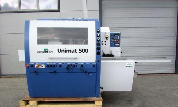Weinig UNIMAT 500, FOUR SIDE PLANER