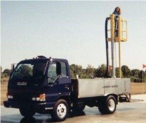 ADLT600-Lift, Lavatory Service Cart