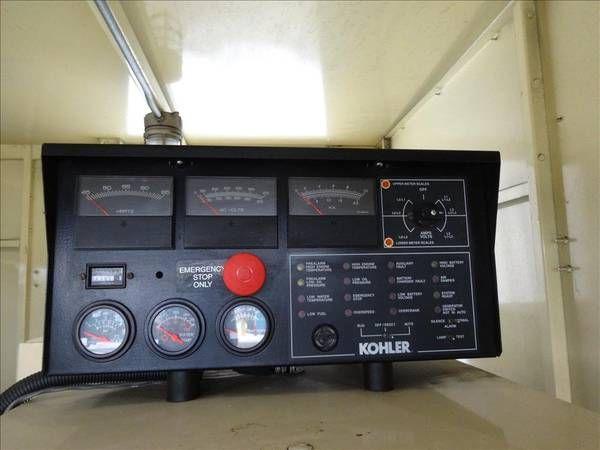 MTU 8V2000-G81 500KW