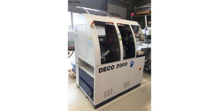 Tornos Fanuc 12000 rpm DECO 10 9 Axis