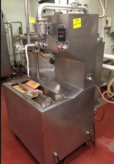 Chester Jensen PFS-100 THERMA-CHILL BULK FOOD BAG FILLING & TYING STATION