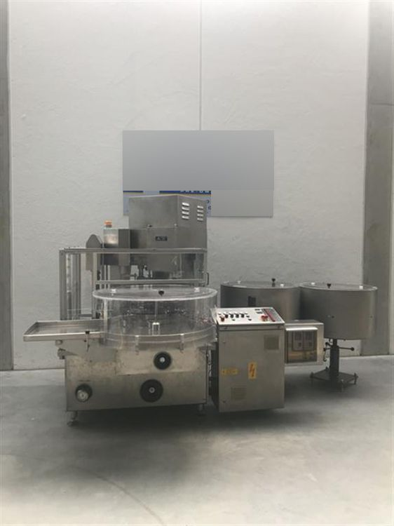 Groninger KFVG 211 S LIQUID FILLING AND CLOSING PLANT