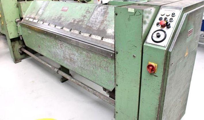 Schroeder MAK II 2550x3,0 sheet width2520 mm