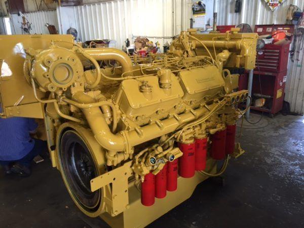 Caterpillar 3412 DIT Marine Engines