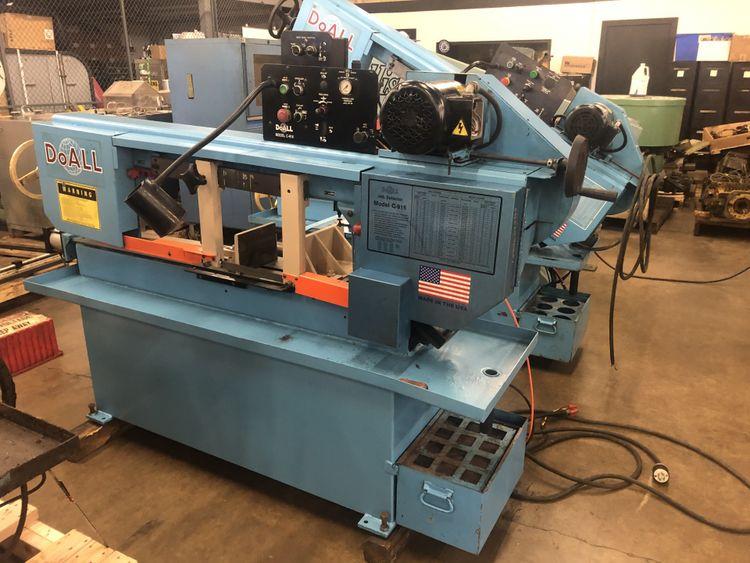 DoAll C-916M Horizontal Bandsaw Semi Automatic