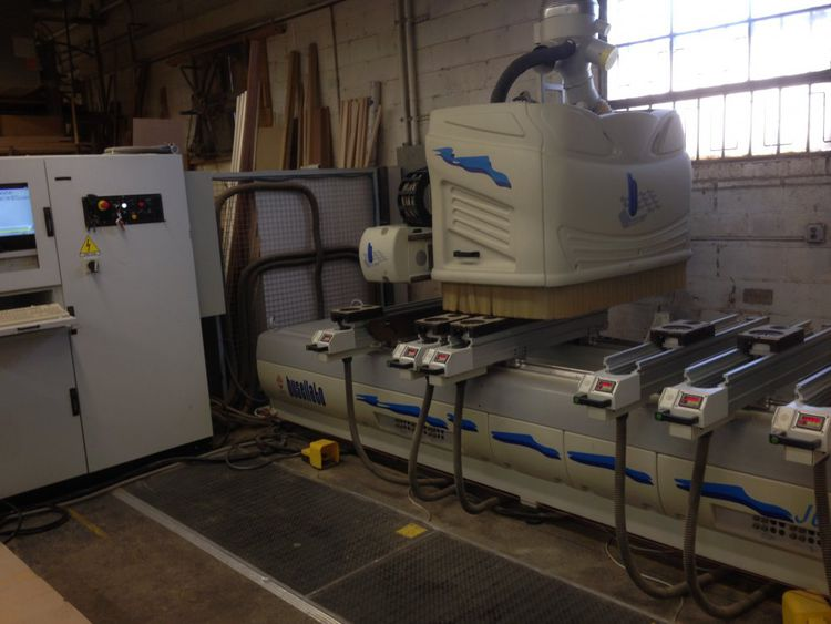 Busellato Jet 2000XL, CNC Machining Center 4 axis