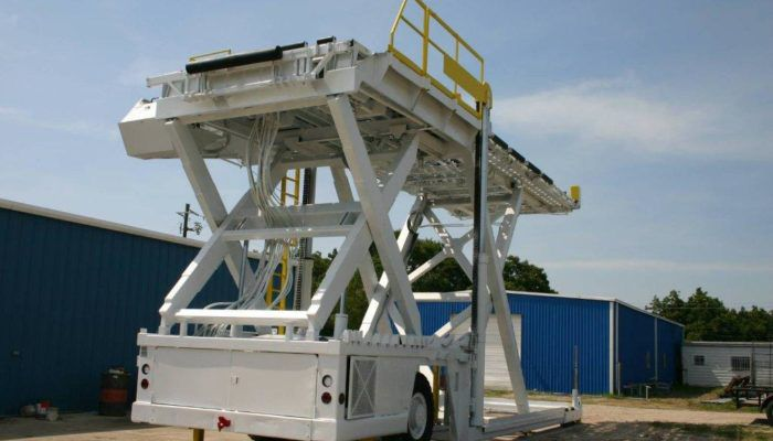 FMC MDL 40, Container Pallet Loader