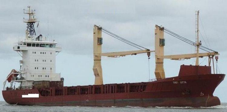 2  Ice Classed Geared Tweendecker Bulk Carriers 4820 Tdwat on 6.40 m draft