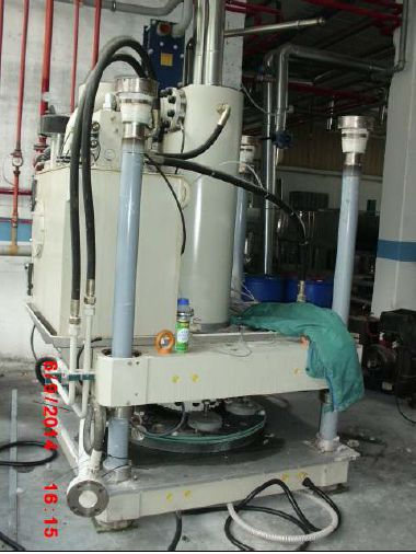 Kannegiesser PP-10-50-40 turbo Water extraction
