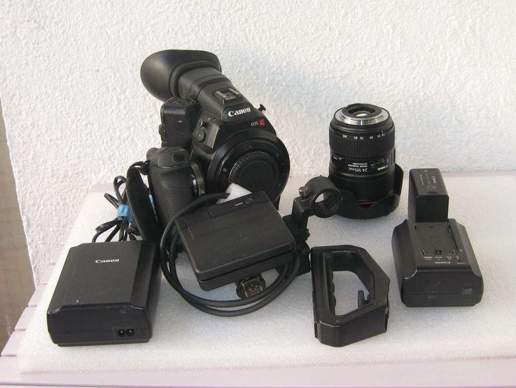EOS  C300 EF MarkI + Canon EF 24 camera