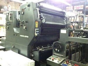 "Heidelberg SORSZ, Offset 2 Colours Press Machine 28 x 40"""