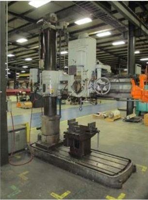 Cincinnati Bickford Radial Drill 6 x 13 1572 rpm