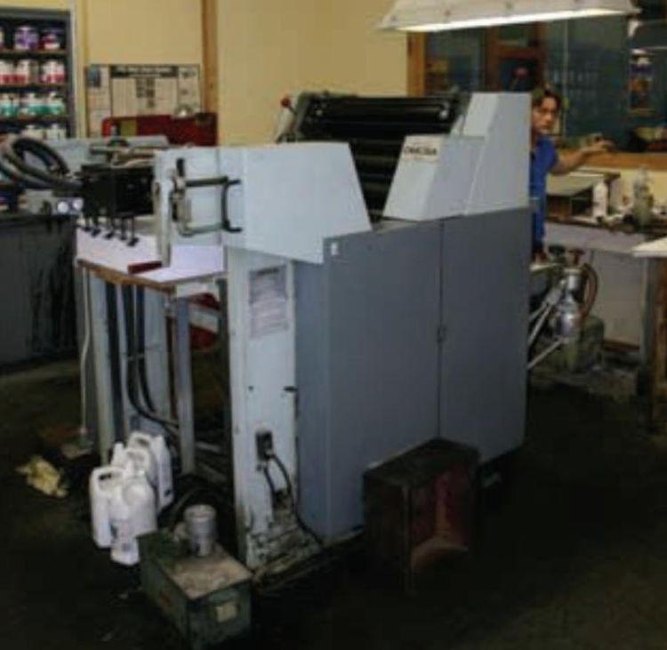 """OMCSA L125C, 1 color Offset machine 19"""" X 25"""""""