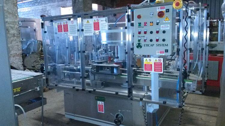 Eticap  Labelling Machine