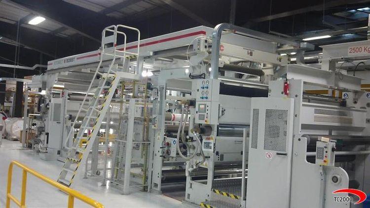 Bobst, Rotomec Rotomelt 1650-200 Laminator / coating machine HOT MELT