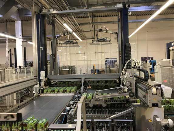 Krones Pressant Universal Duplex 2N-2GS Palletizer