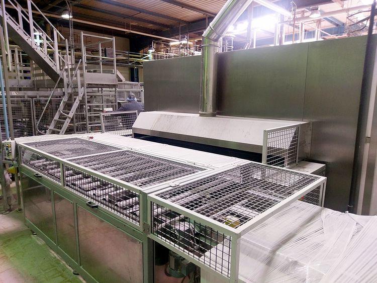 Gouet, Werner & Pfleiderer Breadline Brioche Bread 1800 kg / hour