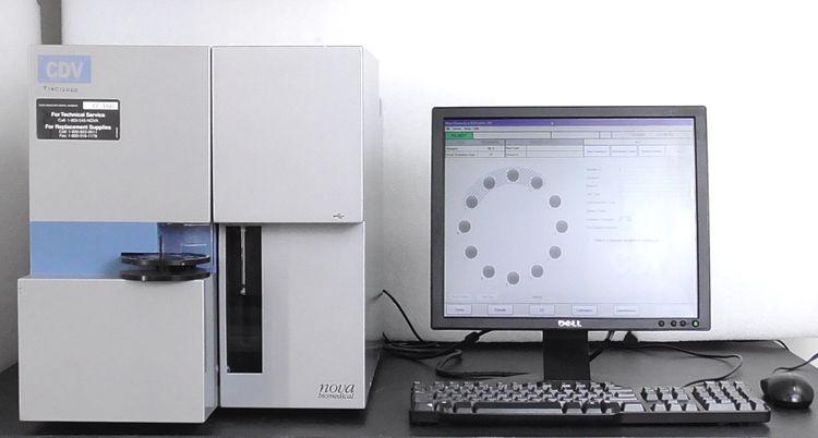 Nova Biomedical Bioprofile CDV Cell Density and Viability Analyzer