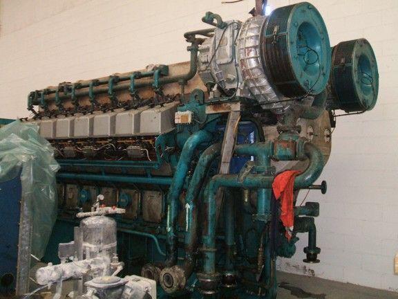 Power Generation Group with Wartsila Gas Motor + ABB Generator 3500 KVA