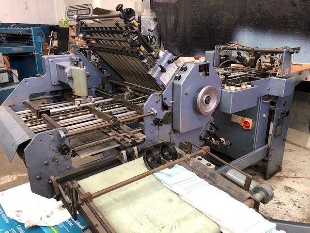 Stahl K47, Folding machine
