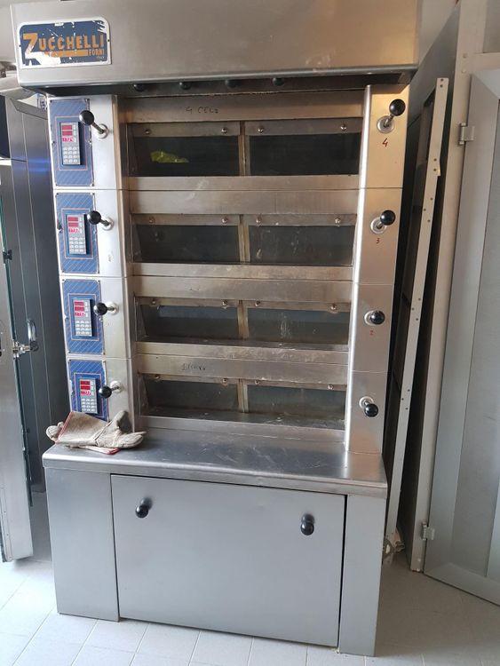 Zucchelli 4C Electric deck oven