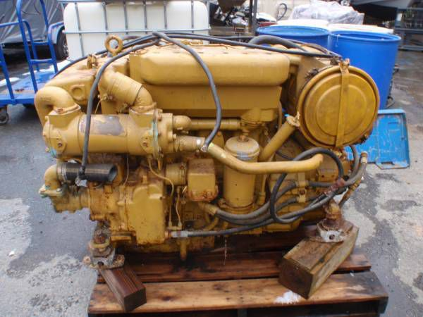 Caterpillar 3304T 160HP w 1.47:1 gears
