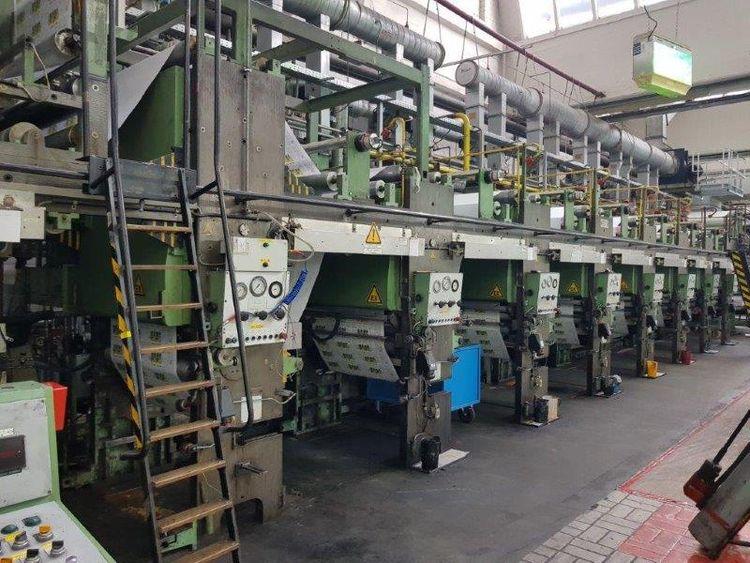 Rotomec Rotopac, Rotogravure printing press 1120 mm