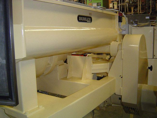 Buhler single screw extruder