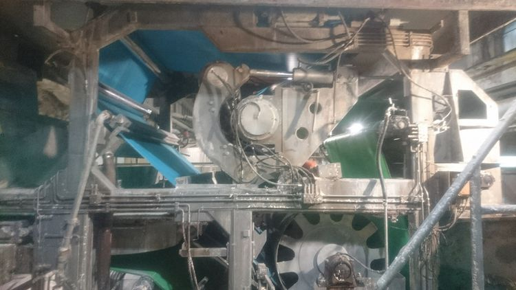 Celleco Hedemora S/S belt press ( pulp) capacity 150 TPD max
