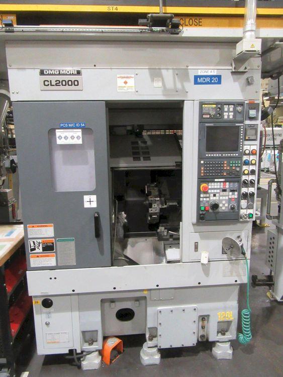 Mori Seiki CNC Control Variable CL-2000 2 Axis