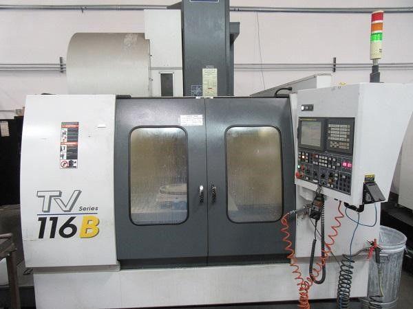 YCM TV-116 BFanuc MXP-200i 3 Axis