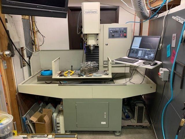 TORMACH PCNC 1100 CNC Milling Machine 5140 RPM