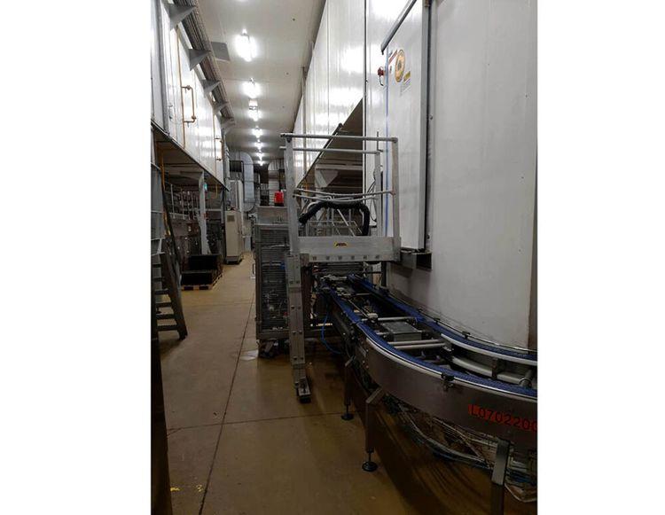 Gouet, Kemper, VMI, WP Pain au lait line 20.000 buns/hour (1200 kg dough/h)